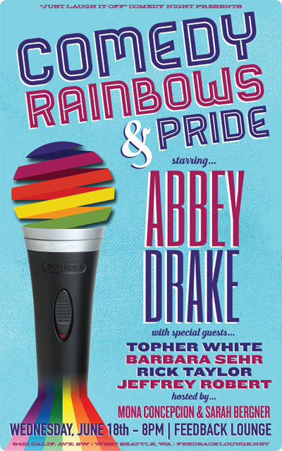 Comedy, Rainbows & Pride