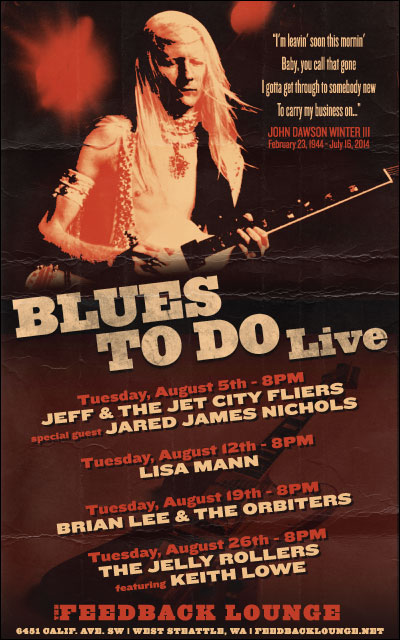 Blues To Do August