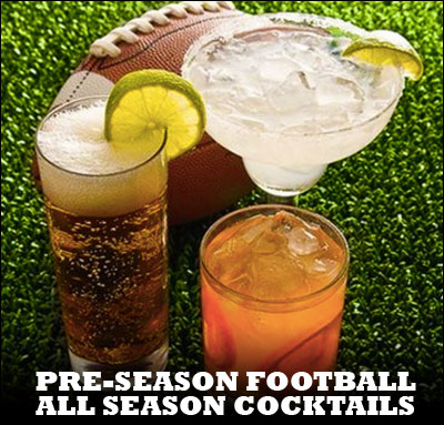 Football Cocktails