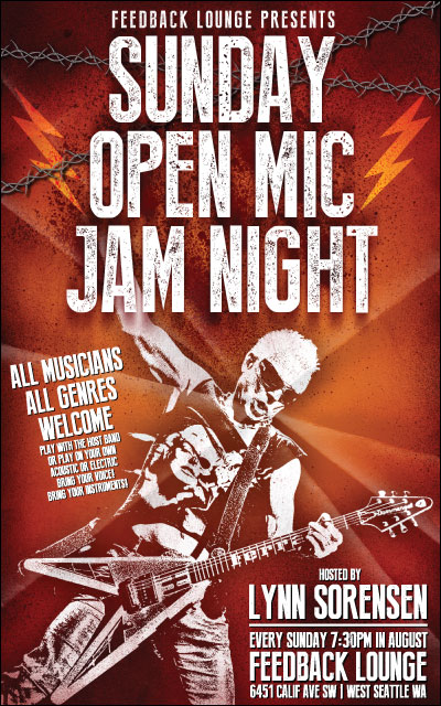Open Mic Jam Night