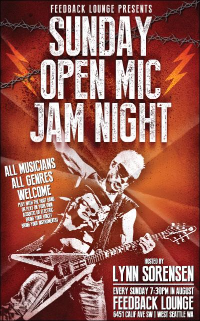 Open Mic Jam Night