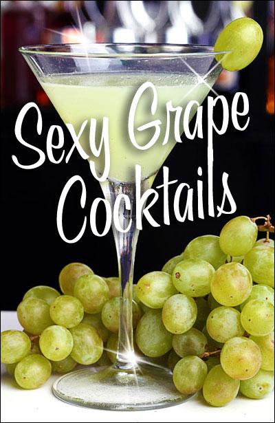 Sexy Grape Cocktails
