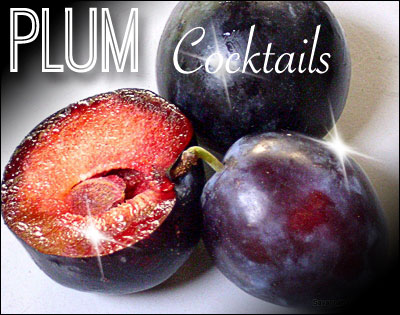 Plum Cocktails