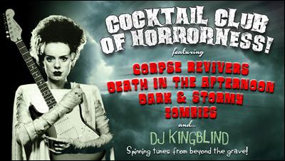 Cocktail Club Halloween