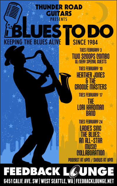 Blues To Do Live Feb 2015