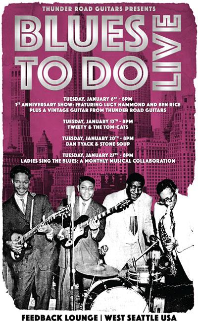 Blues To Do January 2015