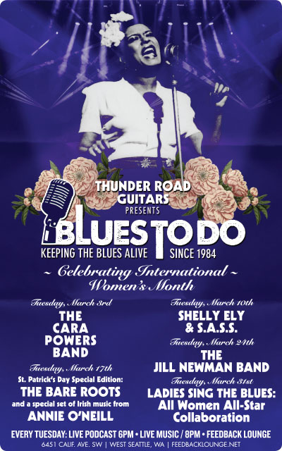 Blues To Do March 2015